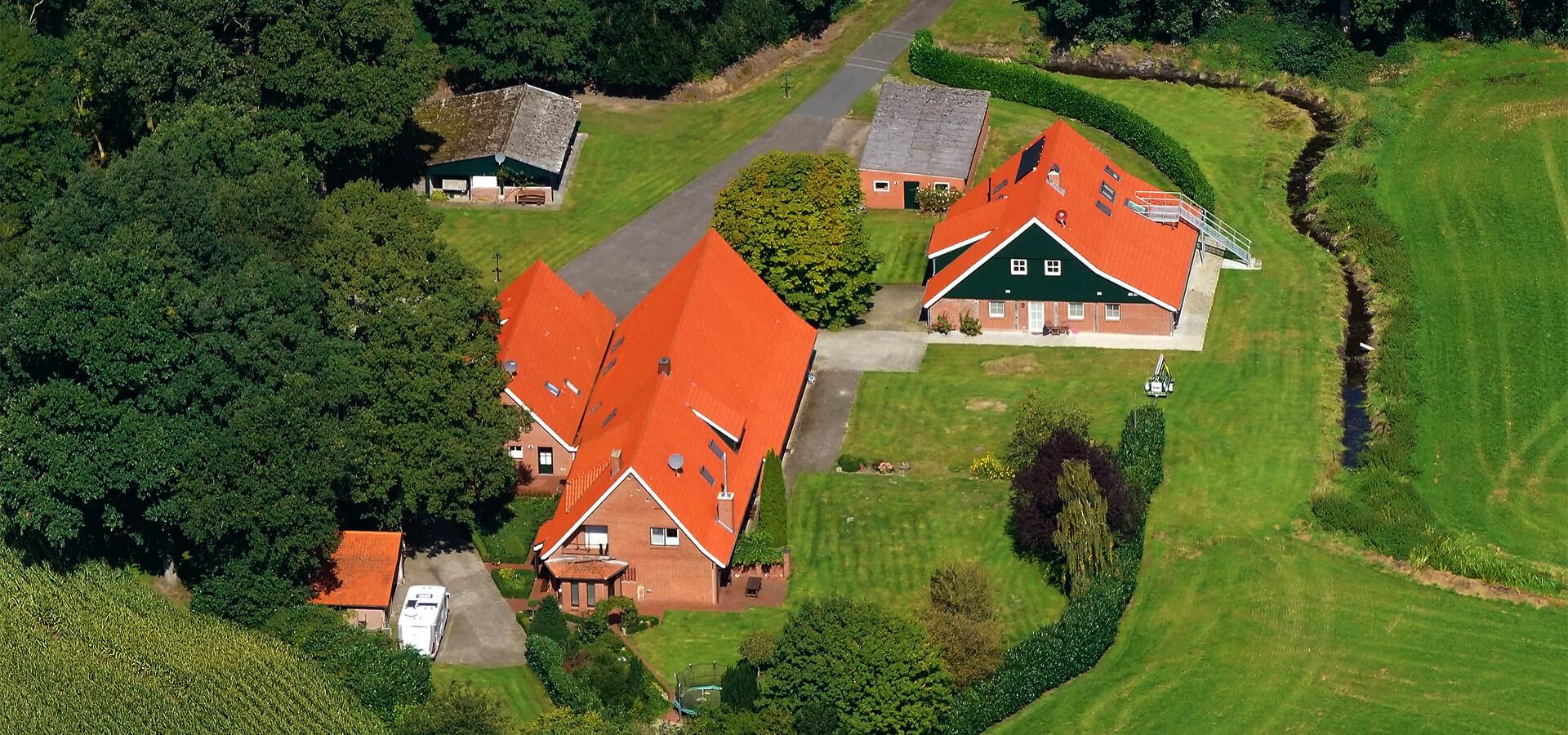 Gästehaus Rötterink Luftbild