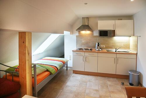 Appartement mit Küche